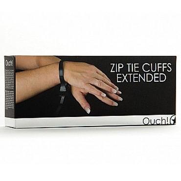 Ouch Zip Tie Cuffs Extended Регулируемые наручники