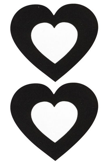 Ouch Nipple Stickers Пэстисы в виде сердец