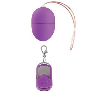 Shots Toys Vibrating Egg Small, фиолетовый Виброяйцо с беспроводным управлением
