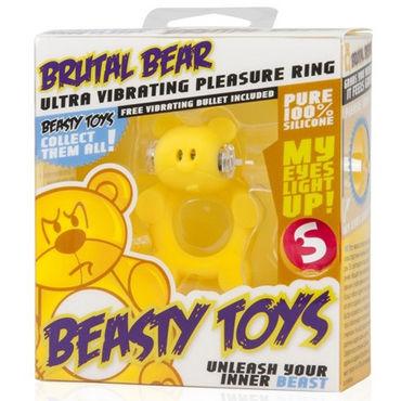 S-Line Beasty Toys Brutal Bear Виброкольцо в виде медвежонка