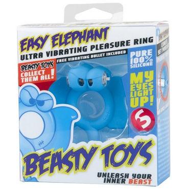 S-Line Beasty Toys Easy Elephant Виброкольцо в виде слоненка