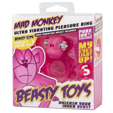S-Line Beasty Toys Mad Monkey Виброкольцо в виде обезьяны
