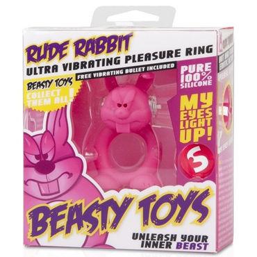 S-Line Beasty Toys Rude Rabbit Виброкольцо в виде кролика