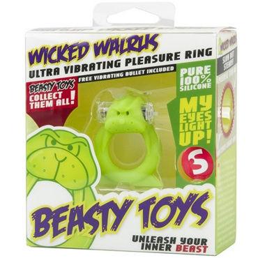 S-Line Beasty Toys Wicked Walrus Виброкольцо в виде моржа
