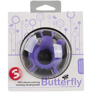 S-Line Butterfly, фиолетовый Виброкольцо в виде бабочки