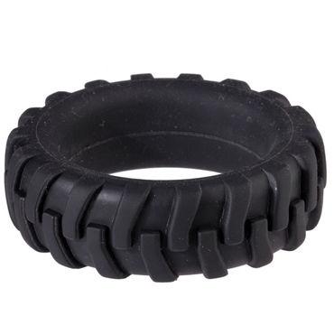 Menzstuff Penis Tire, 3,2 см Насадка в виде шины на пенис