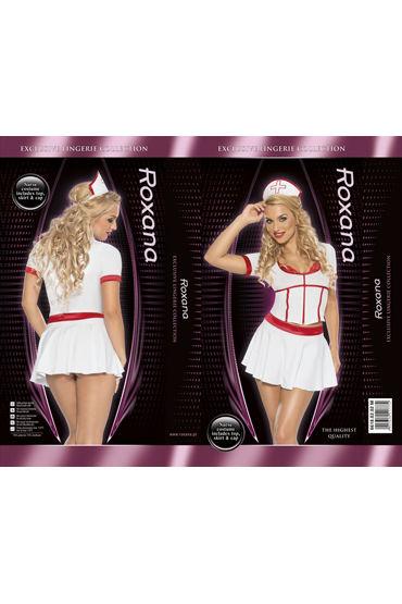 Roxana Костюм медсестры Топ, юбка и головной убор
