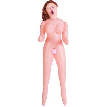 ToyFa Dolls-X Passion, рыжая Надувная секс-кукла, с мастурбаторами-вставками