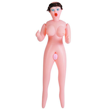 ToyFa Dolls-X Passion, шатенка Надувная секс-кукла, с мастурбаторами-вставками