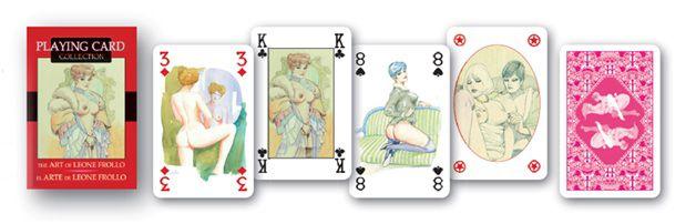 карты с голыми девицами