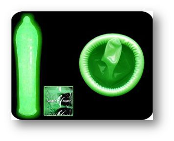 светящиеся кондомы