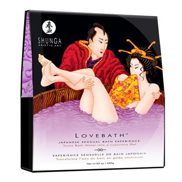 Shunga Lovebath Чувственный лотос, 650 гр Гель для ванны