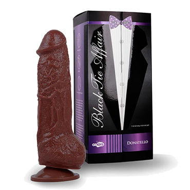 Topco Black Tie Affair Donatello Фаллоимитатор на присоске