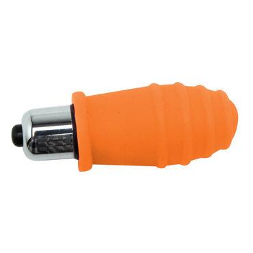 Topco Climax Silicone Orange Pop Вибропуля с насадкой