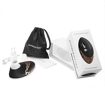 Womanizer PRO, черный/леопардовый Вакуумный стимулятор клитора, улучшенная версия