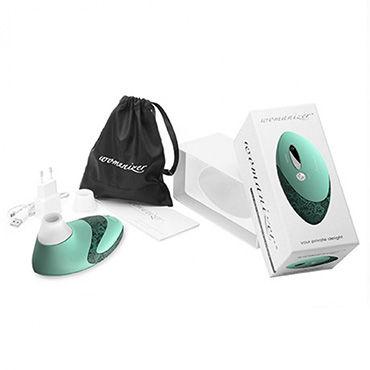 Womanizer PRO, зеленый Вакуумный стимулятор клитора, улучшенная версия
