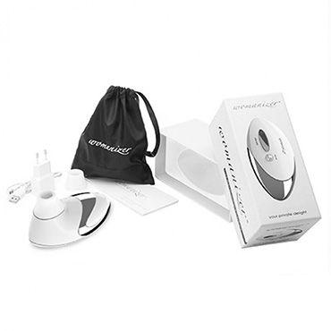 Womanizer Pro, белый Вакуумный стимулятор клитора, улучшенная версия