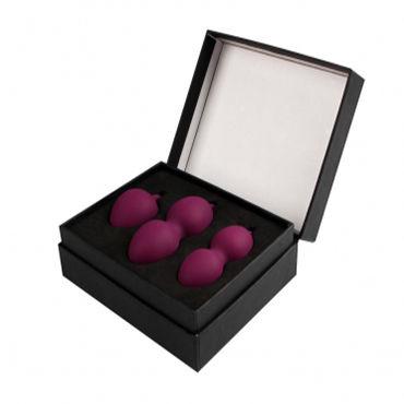 Svakom Nova Ball, фиолетовые Набор вагинальных шариков
