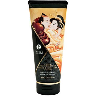 Shunga Kissable Massage Cream Almond Sweetness, 200 мл Съедобный массажный крем с ароматом миндаля