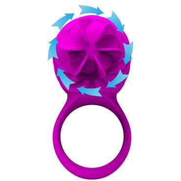 Baile Pretty Love Frances Перезаряжаемое эрекционное кольцо с ротационным стимулятором клитора