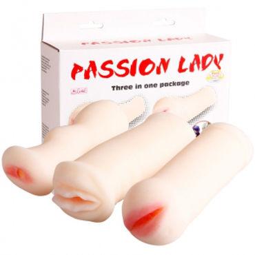 Baile PassionLady Набор из 3-х мастурбаторов с вибрацией