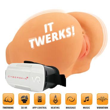 Topco Twerking Butt Delux Имитация движения, вибрация, 3D очки, нагрев