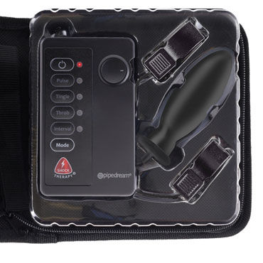 Pipedream Fetish Fantasy Shock Therapy Kinky Couples Travel Kit Набор для электростимуляции