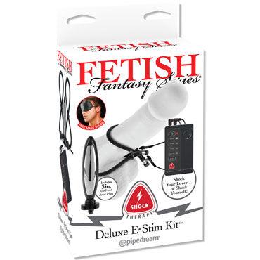 Pipedream Fetish Fantasy Shock Therapy Deluxe E-Stim Kit Набор для электростимуляции с различными насадками