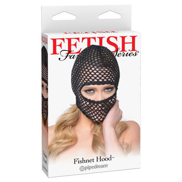 Pipedream Fetish Fantasy Fishnet Hood Балаклава в крупную сетку