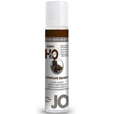 System JO Flavored Chocolate Delight, 30 мл Лубрикант на водной основе с ароматом шоколада