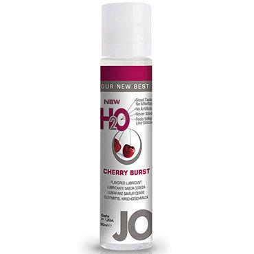 System JO Flavored Cherry Burst, 30 мл Лубрикант на водной основе с вишневым вкусом