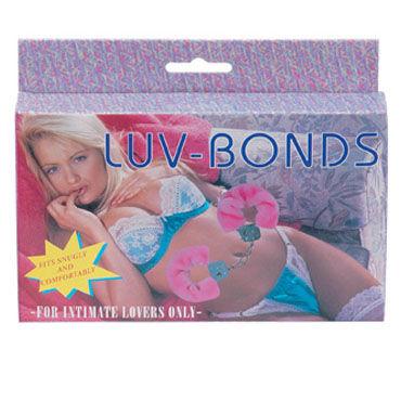 Gopaldas Luv Bonds розовый Наручники с искусственным мехом