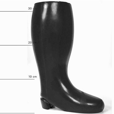 O-Products All Black - AB 61, черный Сапог для фистинга