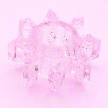 Gopaldas CockRing розовый Эластичное эрекционное кольцо