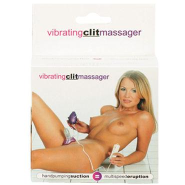Gopaldas Vibrating Clit Massager фиолетовый Вакуумный стимулятор клитора