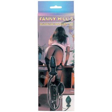 Gopaldas Fanny Hills Butt Plug черный Анальный расширитель с вибрацией