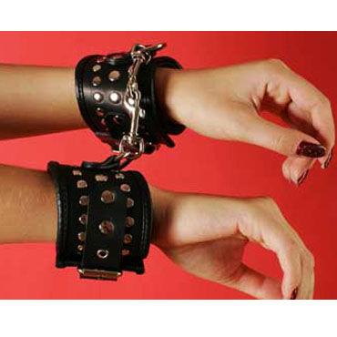 Podium наручники, черные С заклепками