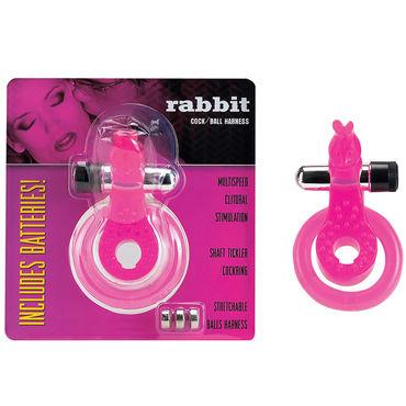 Gopaldas Turtle Cock Ring розовый, Эрекционное кольцо с вибрацией