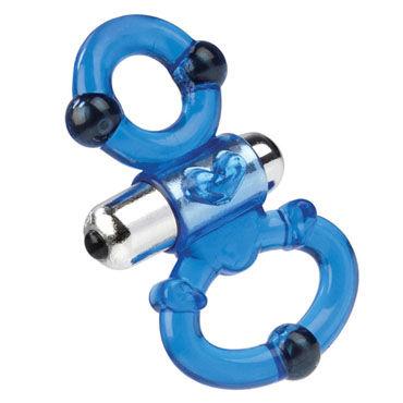 California Exotic Magnetic Power Ring Dual Кольцо для пениса и мошонки с вибрацией