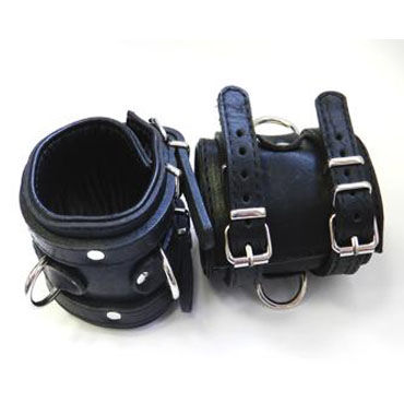 Podium наручники, черные С подвернутой подкладкой