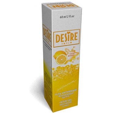 Desire Лубрикант, 60 мл, С ароматом цитруса