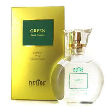 Desire Green, 50 мл Духи с феромонами для женщин