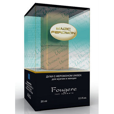 Magic Feromon Fougere Unisex, 20 мл, Духи с феромонами унисекс