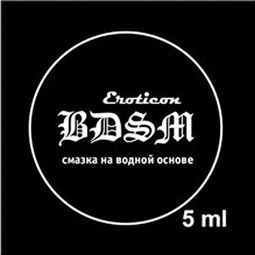 Eroticon Гель-смазка BDSM, 5 мл Анальная