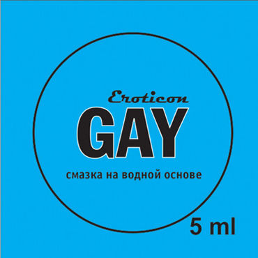 Eroticon Гель-смазка Gay Style, 5 мл Анальная