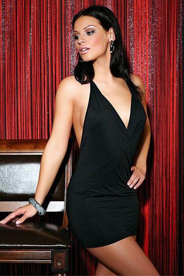 Passion Jessica мини-платье Маленькое черное, с открытой спиной