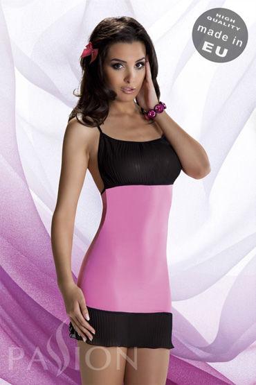 Passion Venka комплект,розовый На бретельках, с плиссировкой