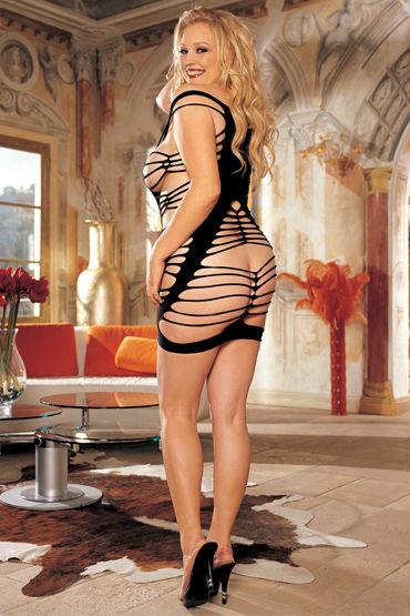Shirley платье, черное С вырезами
