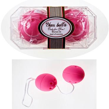 Sextoy шарики вагинальные, розовые Для тренировки внутренних мышц
