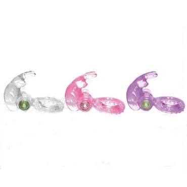 Sextoy эрекционное кольцо, розовое С дополнительной стимуляцией клитора